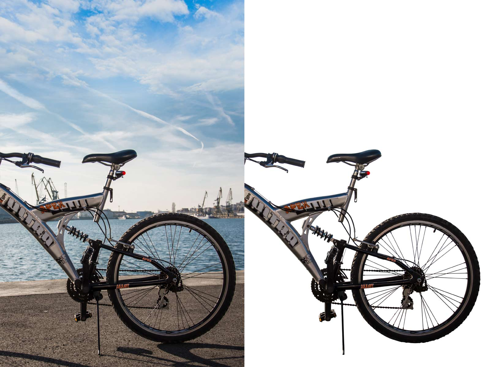 Clippingpath image of Alpha Clipping Path
