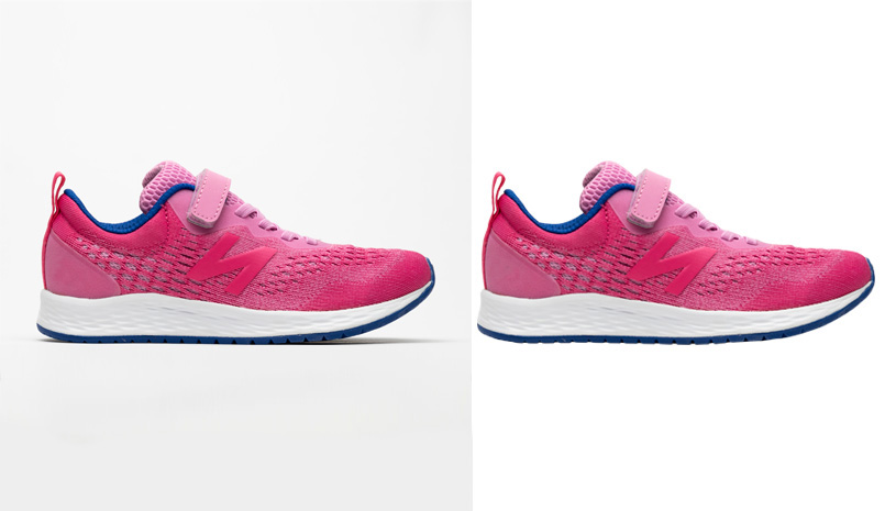 shoe clipping path image by alpha clipping path