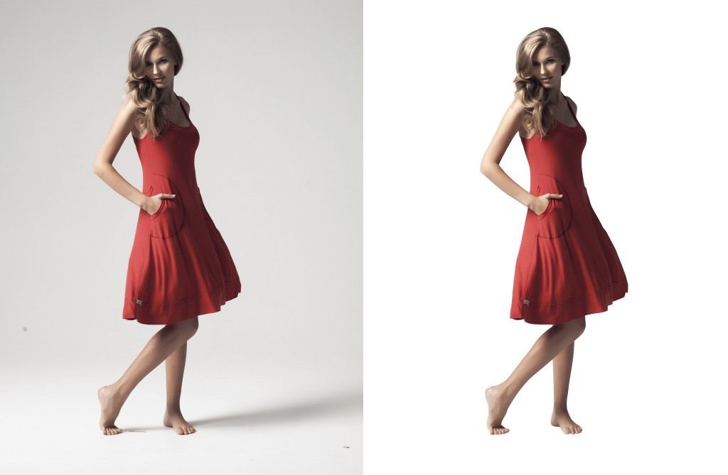 Single clipping path image by Alpha Clipping Path