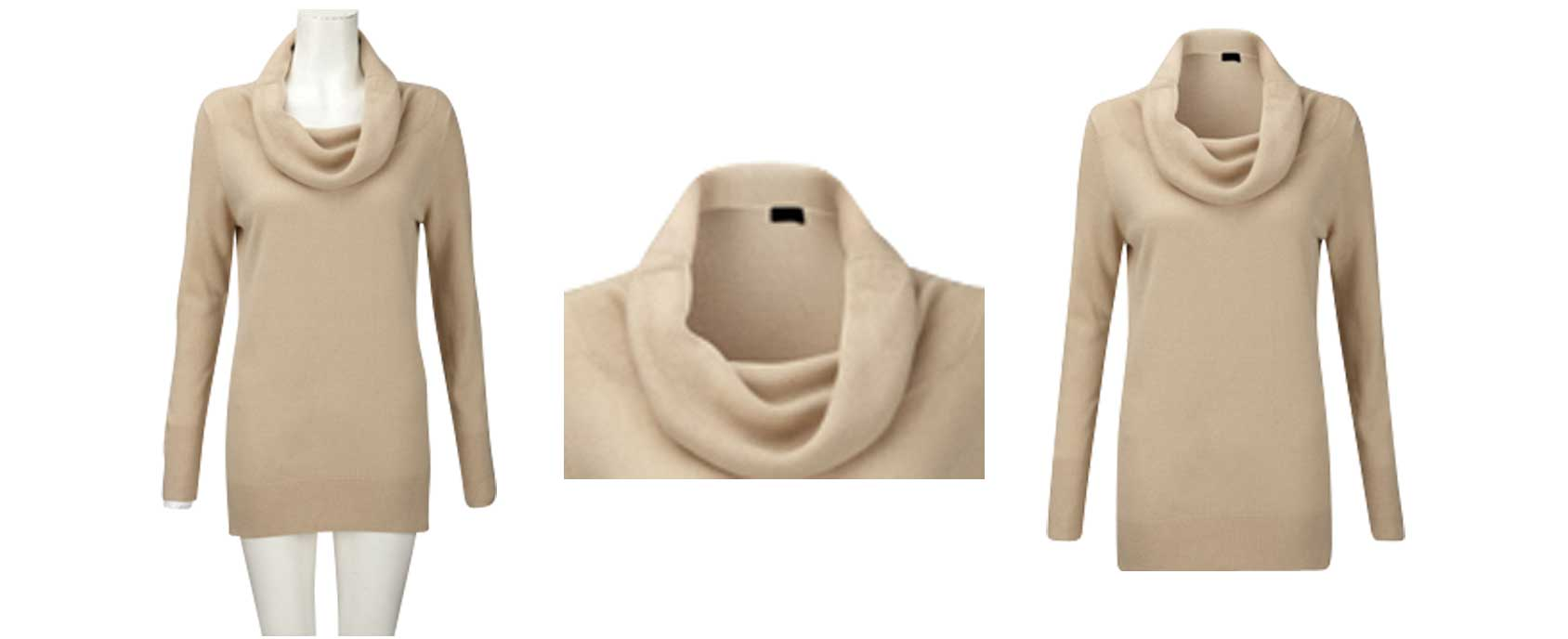Ghost mannequin/Neck joint image by Alpha Clipping Path