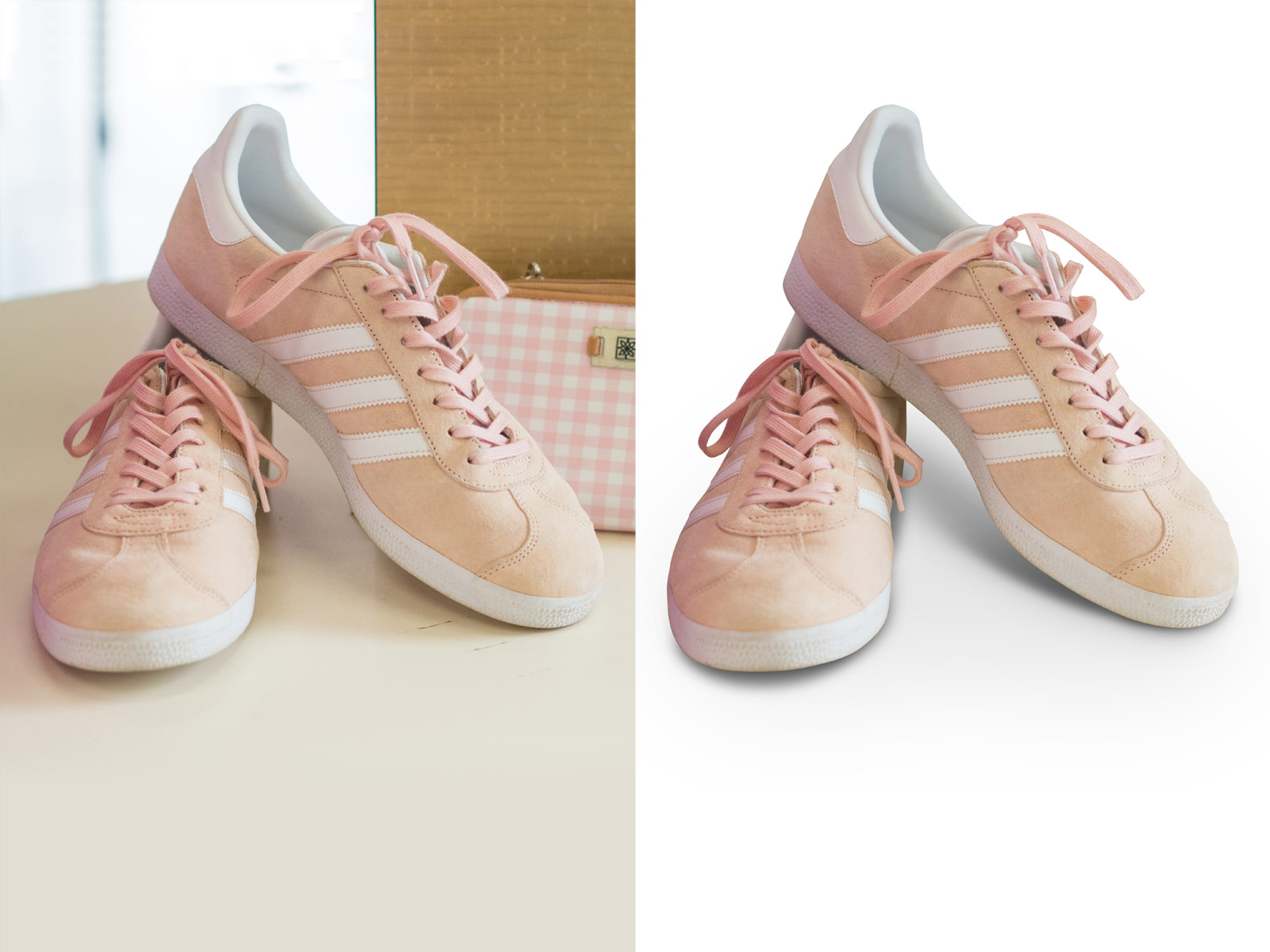 Natural Shadow service by Alpha Clipping Path
